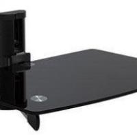 Staklena polica za AV uređaje Brateck DVD-2BE