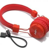 Slušalice NIA-X3 Bluetooth crvene